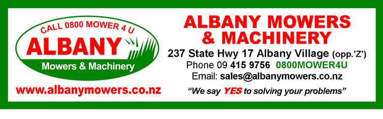 Albany Mowers & Machinery logo